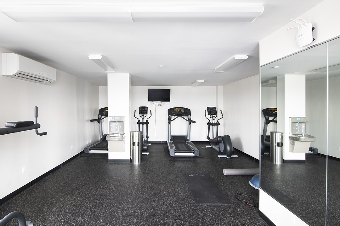 Carlton Arms fitness room