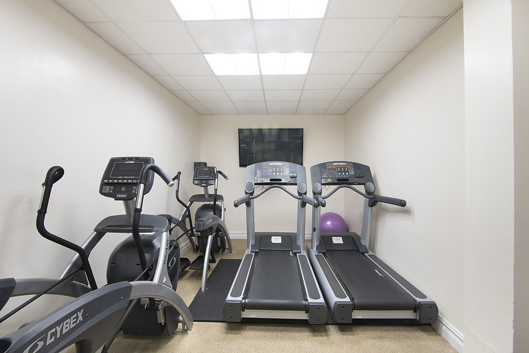 Woodbridge fitness room